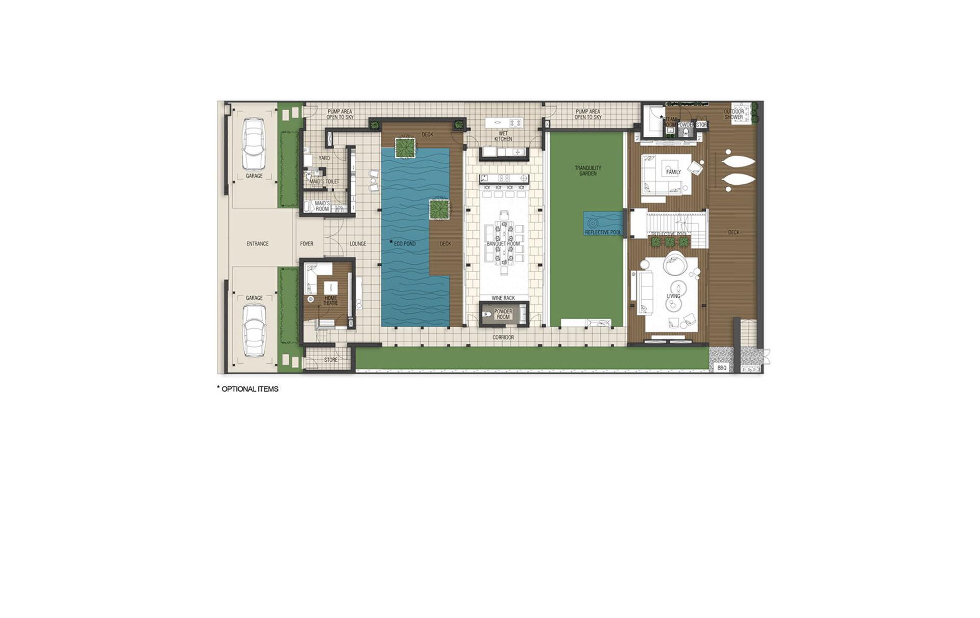 4 Bedroom Villa – Enclave 1st Storey