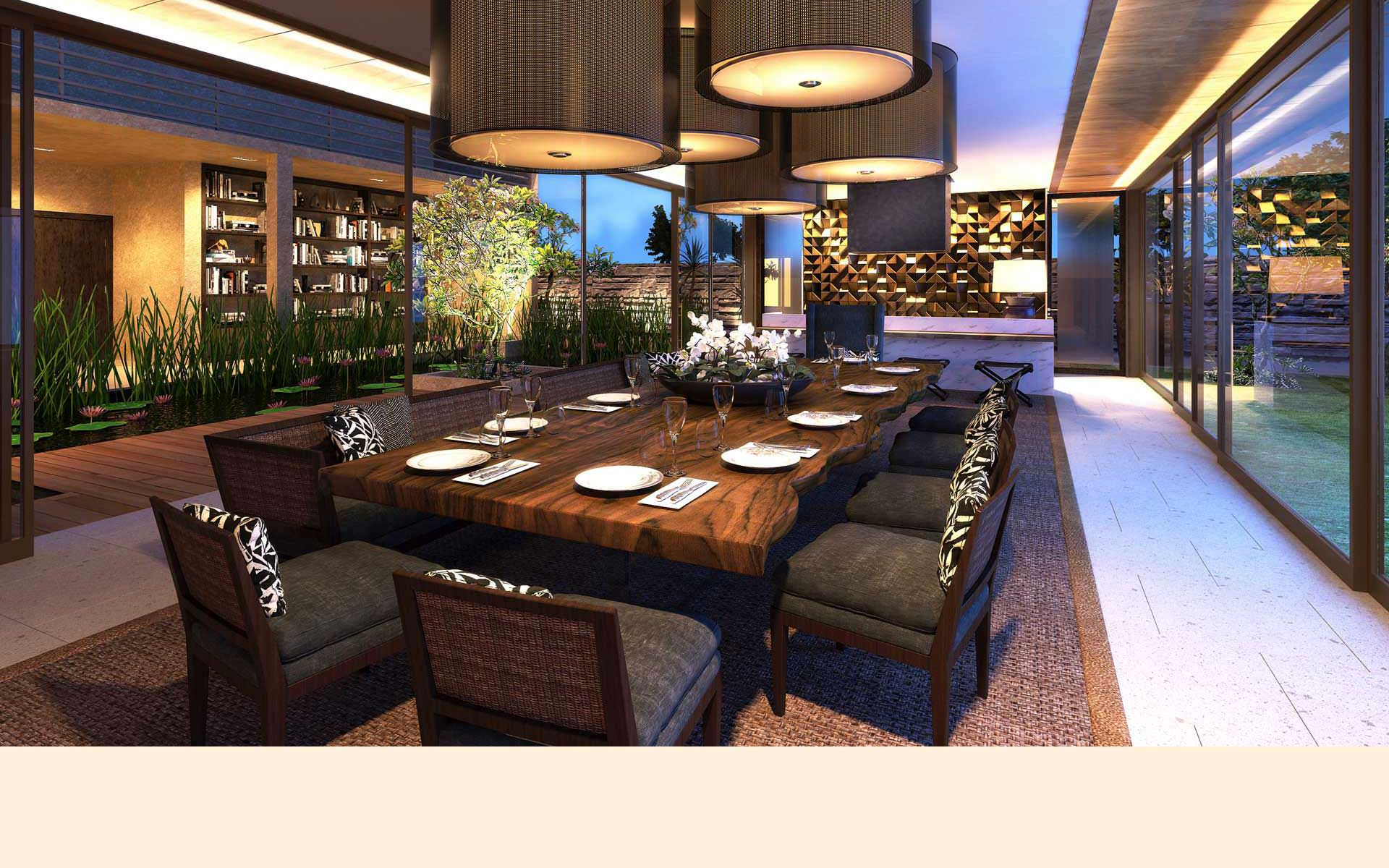 4 Bedroom Villa – Dining Room
