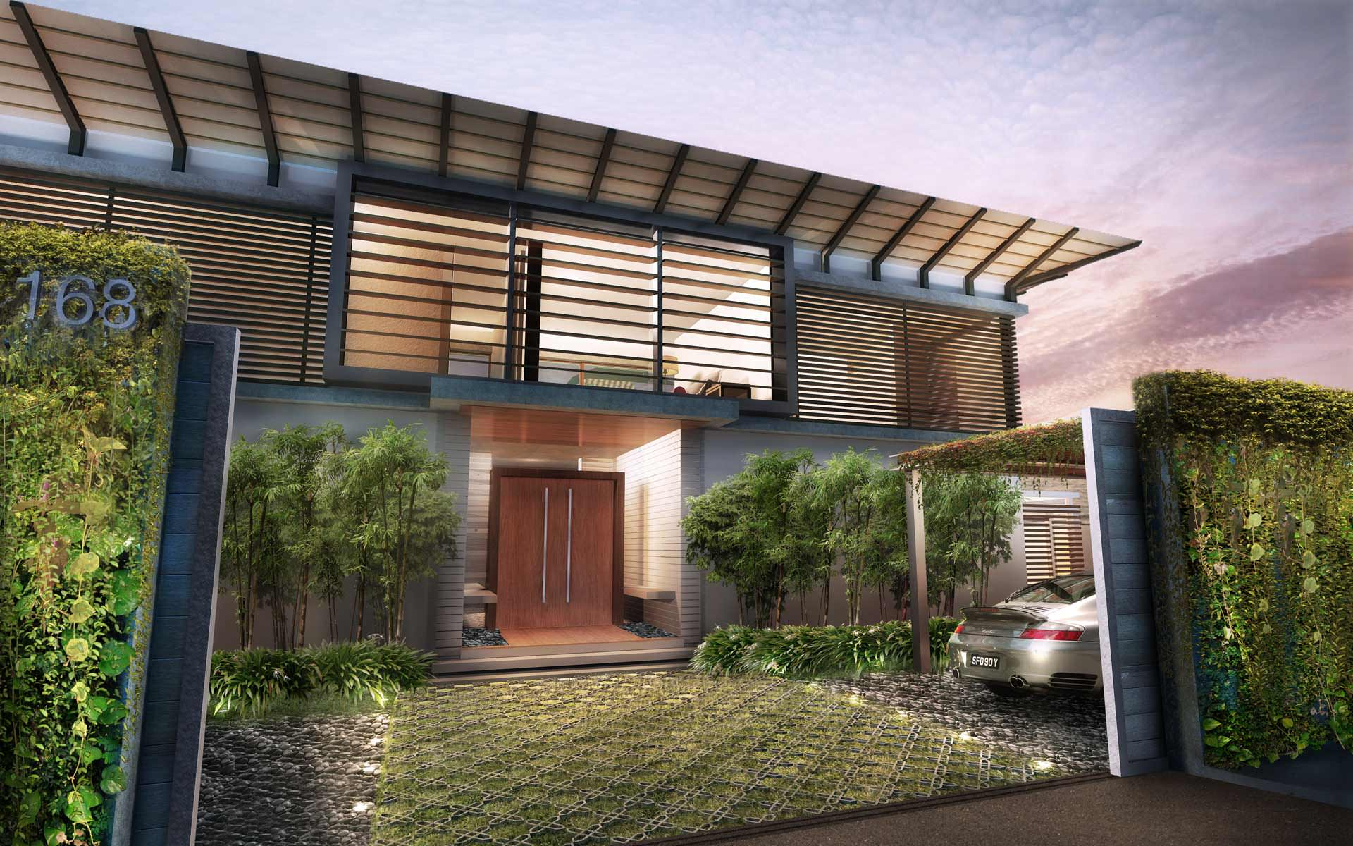 4 Bedroom Villa – Pavilion